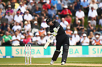Blackcaps Martin Guptill during the 4th ODI Blackcaps v England. University Oval, Dunedin, New Zealand. Wednesday 7 March 2018. ©Copyright Photo: Chris Symes / www.photosport.nz