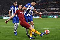 Bryan Cristante of AS Roma , Eder Militao of Porto <br /> Roma 12-2-2019 Stadio Olimpico Football Champions League 2018/2019 round of 16 1st leg AS Roma - Porto  <br /> Foto Andrea Staccioli / Insidefoto