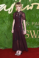 Natalia Dyer<br /> arriving for The Fashion Awards 2017 at the Royal Albert Hall, London<br /> <br /> <br /> &copy;Ash Knotek  D3356  04/12/2017