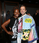 LaChanze and Curtis Holbrook during the Broadway Opening Night  AEA Gypsy Robe Ceremony honoring Curtis Holbrook for  'IF/THEN' at the Richard Rodgers Theatre on March 30, 2014 in New York City.