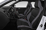 Front seat view of a 2019 Skoda Fabia Monte Carlo 5 Door Hatchback front seat car photos