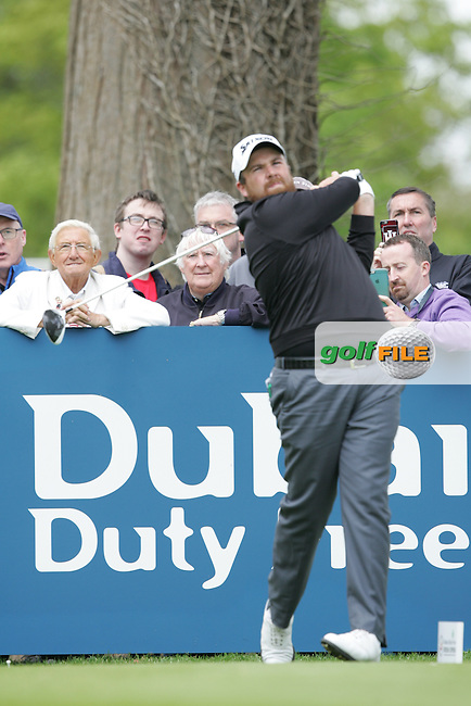 Shane Lowry (IRL) during Wednesday's Pro-Am ahead of the 2016 Dubai Duty Free Irish Open Hosted by The Rory Foundation which is played at the K Club Golf Resort, Straffan, Co. Kildare, Ireland. 18/05/2016. Picture Golffile | TJ Caffrey.<br /> <br /> All photo usage must display a mandatory copyright credit as: &copy; Golffile | David Lloyd.