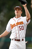 Nick Buss of the USC Trojans during a game against the Tulane Green Wave at Dedeaux Field on February 25, 2007 in Los Angeles, California. (Larry Goren/Four Seam Images)