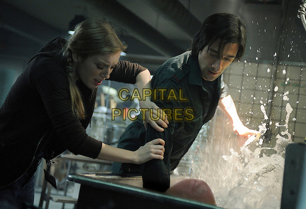 Sarah Polley, Adrien Brody<br /> in Splice (2009) <br /> *Filmstill - Editorial Use Only*<br /> CAP/NFS<br /> Image supplied by Capital Pictures