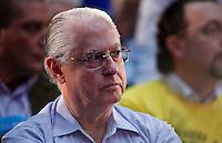 SAO PAULO, SP, 24 JUNHO 2012 - CONVENÇAO PSDB  durante convenção do PSDB para lancamento da candidatura do tucano José Serra no Ginásio Mauro Pinheiro (Ibirapuera) nesse domingo, 24. FOTO: VANESSA CARVALHO - BRAZIL PHOTO PRESS.
