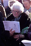 At the War Memorial service in Mary Street.Pic Fran Caffrey Newsfile.© Newsfile