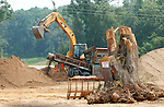 Construction in Bradfordville, just north of Tallahassee, Florida July 23, 2004.    (Mark Wallheiser/TallahasseeStock.com)