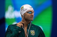 De Deus BRA<br /> 200 backstroke men<br /> Rio de Janeiro  XXXI Olympic Games <br /> Olympic Aquatics Stadium <br /> swimming heats 10/08/2016<br /> Photo Andrea Staccioli/Deepbluemedia/Insidefoto