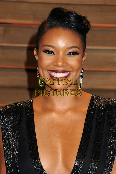 02 March 2014 - West Hollywood, California - Gabrielle Union. 2014 Vanity Fair Oscar Party following the 86th Academy Awards held at Sunset Plaza. <br /> CAP/ADM/BP<br /> &copy;Byron Purvis/AdMedia/Capital Pictures