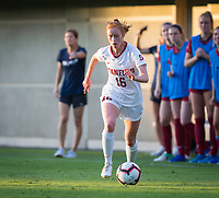 STANFORD, CA - August 30, 2019: Beattie Goad at Maloney Field at Laird Q. Cagan Stadium. The Cardinal defeated the University of Pennsylvania Quakers 5-1.