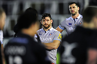 Nathan Catt of Bath Rugby looks dejected after the match. Aviva Premiership match, between Newcastle Falcons and Bath Rugby on January 6, 2017 at Kingston Park in Newcastle upon Tyne, England. Photo by: Patrick Khachfe / Onside Images