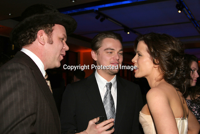John C. Reilly , Leonardo DiCaprio &amp; Kate Beckinsale <br />