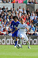 Saturday 22 September 2012 <br /> Pictured: Pablo Hernandez<br /> Barclays Premiership, Swansea City v Everton at the Liberty Stadium, south Wales.
