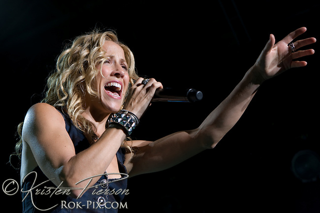 Sheryl Crow performs at Bank of America Pavilion, Boston, MA July 30, 2008