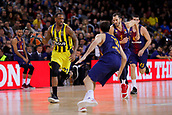 8th December 2017, Palau Blaugrana, Barcelona, Spain; Turkish Airlines Euroleague Basketball, FC Barcelona Lassa versus Fenerbahce Dogus Istanbul; James William Nunnally of Fenerbahce Dogus istanbul runs with the ball