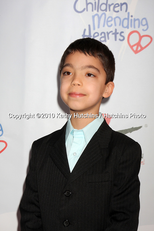 "Ethan Bortnick.arrives at the Children Mending Hearts 3rd ""Peace Please"" Gala.Music Box @ Fonda .Los Angeles, CA.April 16, 2010.©2010 Kathy Hutchins / Hutchins Photo..."