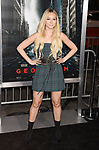 HOLLYWOOD, CA - OCTOBER 16: Fashion designer Corinne Olympios attends the premiere of Warner Bros. Pictures' 'Geostorm' at the TCL Chinese Theatre on October 16, 2017 in Hollywood, California.
