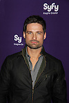 Warren Christie in Alphas at the Syfy Upfront 2012 on April 24, 2012 at the American Museum of Natural History, New York City  (Photo by Sue Coflin/Max Photos)