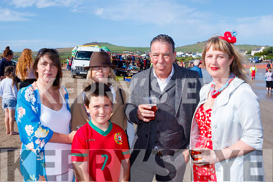 Best Dressed<br /> ------------------<br /> L-R Deirdre&amp;Rory McPhilemy, Judge on the day Sharon O'Connor with best dressed man Pronasis O'Br&iacute;en and best dressed lady M&aacute;ire Ruis&eacute;al at the races last Sunday.