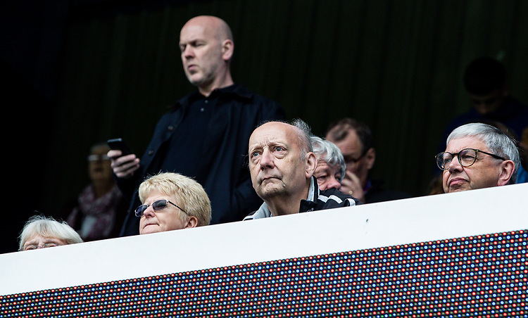 Blackburn Rovers' supporters enjoying the pre-match atmosphere<br /> <br /> Photographer Andrew Kearns/CameraSport<br /> <br /> The EFL Sky Bet Championship - Queens Park Rangers v Blackburn Rovers - Saturday 5th October 2019 - Loftus Road - London<br /> <br /> World Copyright © 2019 CameraSport. All rights reserved. 43 Linden Ave. Countesthorpe. Leicester. England. LE8 5PG - Tel: +44 (0) 116 277 4147 - admin@camerasport.com - www.camerasport.com