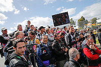 MELBOURNE, 17 MARCH - Photographers waiting to take the drivers' photo for  the 2013 Formula One Rolex Australian Grand Prix at the Albert Park Circuit in Melbourne, Australia. Photo Sydney Low/syd-low.com
