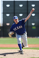 Chad Bell, Texas Rangers minor league spring training..Photo by:  Bill Mitchell/Four Seam Images.