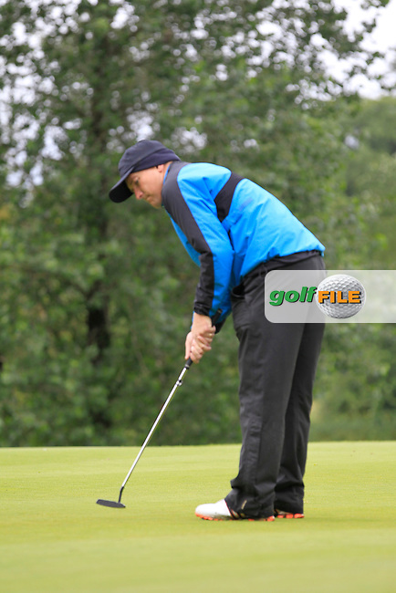 Joe Lyons (Galway) on the 2nd during round 1 of The Mullingar Scratch Cup in Mullingar Golf Club on Sunday 3rd August 2014.<br /> Picture:  Thos Caffrey / www.golffile.ie