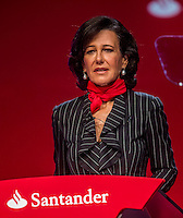 Santander's new chairwoman Ana Patricia Botin during an Extraordinary General Meeting (EGM) at the Palacio Exposiciones on September 15, 2014 in Santander, Spain. Photo by Nacho Cubero / studioEAST