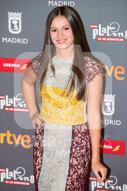 Miranda Purcell attends to welcome party photocall of Platino Awards 2017 at Callao Cinemas in Madrid, July 20, 2017. Spain.<br /> (ALTERPHOTOS/BorjaB.Hojas)