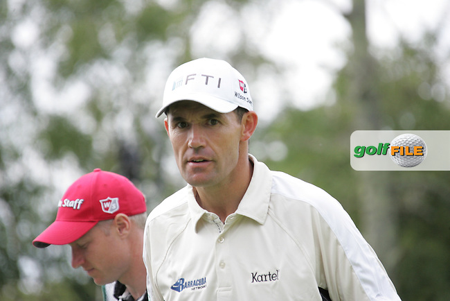 Padraig Harrington finishes his round on Day 1 of the 3 Irish Open at the Killarney Golf & Fishing Club, 29th July 2010..(Picture Eoin Clarke/www.golffile.ie)