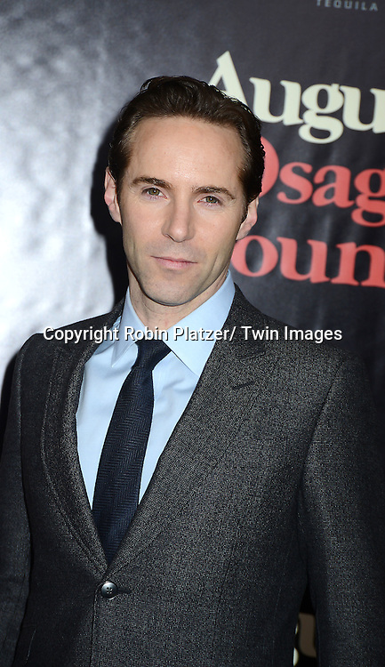 """Alessandro Nivola attends the New York Premiere of """"August: Osage County"""" on December 12, 2013 at the Ziegfeld Theatre in New York City."""