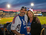 "Steve and Jennifer Foy during the Reno Aces ""Star Wars Night"" in Reno on Saturday, June 8, 2019."