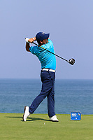 Felipe Aguilar (CHI) during the first round of the NBO Open played at Al Mouj Golf, Muscat, Sultanate of Oman. <br /> 15/02/2018.<br /> Picture: Golffile | Phil Inglis<br /> <br /> <br /> All photo usage must carry mandatory copyright credit (&copy; Golffile | Phil Inglis)