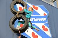 SPORT: HEERENVEEN: 19-10-2015, Mega Sportdag, 6 jarige Sara Regensburger uit Heerenveen, ©foto Martin de Jong
