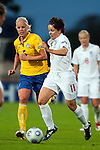 Susan Smith, Caroline Seger, Sweden-England, Women's EURO 2009 in Finland, 08312009, Turku, Veritas Stadium.