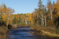 Temperance River along Lake Superior's North Shore in the Superior National Forest.