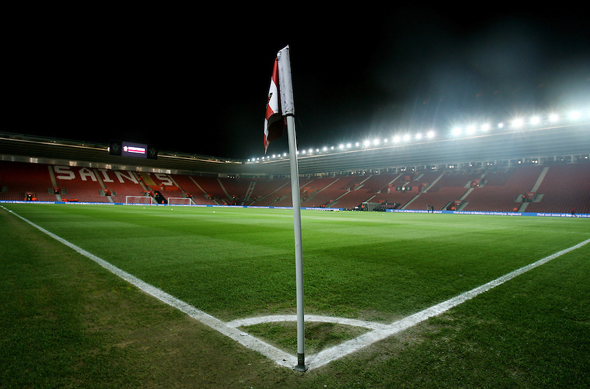 General Ground View of St Mary's Stadium...- Credit - CameraSport - James Marsh - ..Football - Barclays Premiership - Southampton v Everton - Monday 21st January 2013 - St Mary's - Southampton..