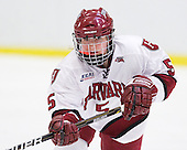 Kelsey Romatoski (Harvard - 5) - The Harvard University Crimson defeated the St. Lawrence University Saints 8-3 (EN) to win their ECAC Quarterfinals on Saturday, February 26, 2011, at Bright Hockey Center in Cambridge, Massachusetts.