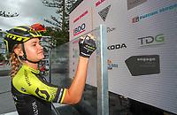 Georgia Williams, winner of the Elite Women's Road Race, BDO Elite Road National Championships - Time Trials,  New Zealand. Friday, 05 January,  2018. Copyright photo: John Cowpland / www.photosport.nz