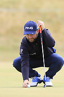 Andy Sullivan (ENG) on 14th green during Thursday's Round 1 of the 2018 Dubai Duty Free Irish Open, held at Ballyliffin Golf Club, Ireland. 5th July 2018.<br /> Picture: Eoin Clarke | Golffile<br /> <br /> <br /> All photos usage must carry mandatory copyright credit (&copy; Golffile | Eoin Clarke)