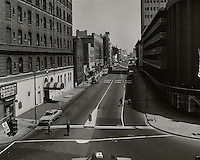 1965 May 26..Redevelopment.Downtown North (R-8)..View looking North up Monticello Avenue from City Hall Avenue.Maritime Office Building on right..HAYCOX PHOTORAMIC INC..NEG# 65-480-1.NRHA# 2056..