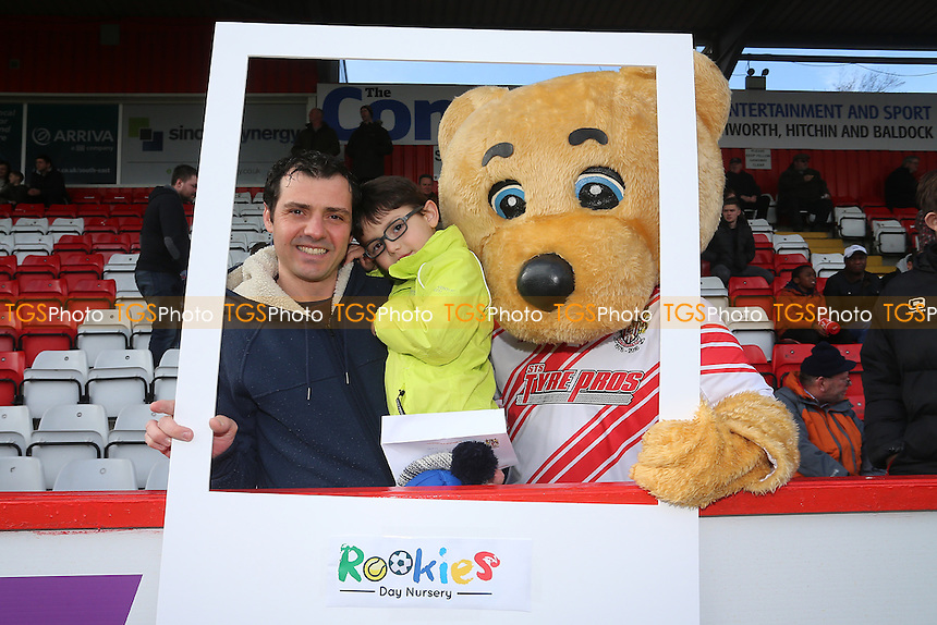 Rookies Day Nursey group during Stevenage vs Notts County, Sky Bet EFL League 2 Football at the Lamex Stadium on 4th March 2017