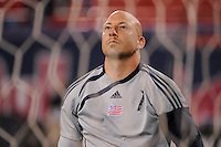 New England Revolution goalkeeper Matt Reis (1). The New York Red Bulls and the New England Revolution played to a 1-1 tie during a Major League Soccer match at Giants Stadium in East Rutherford, NJ, on September 18, 2009.