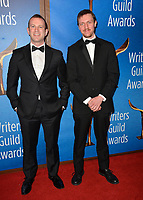 LOS ANGELES, CA. February 17, 2019: Charles Wachtel & David Rabinowitz at the 2019 Writers Guild Awards at the Beverly Hilton Hotel.<br /> Picture: Paul Smith/Featureflash