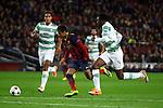 UEFA Champions League 2013/2014.<br /> FC Barcelona vs Celtic FC: 6-1 - Game: 6.<br /> Van Dijk, Neymar &amp; Ambrose.