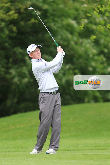 Gavin Moynihan (IRL) during Thursday's Round 1 ahead of the 2016 Dubai Duty Free Irish Open Hosted by The Rory Foundation which is played at the K Club Golf Resort, Straffan, Co. Kildare, Ireland. 19/05/2016. Picture Golffile | TJ Caffrey.<br /> <br /> All photo usage must display a mandatory copyright credit as: &copy; Golffile | TJ Caffrey.