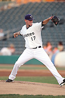 Jeremy Hefner - Tucson Padres - 2011 Pacific Coast League (Bill Mitchell)