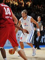 PICTURE BY Dave Winter/SWPIX.COM - Olympics 2012 - Medal hopes for France......Copyright - Simon Wilkinson - 07811267706.....Joakim NOAH - Basketball.