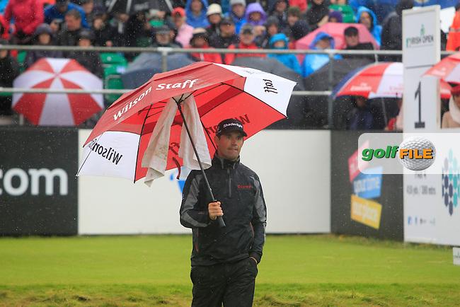 Padraig Harrington (IRL) during round 3 of the Irish Open at Royal Portrush GC,Portrush,County Antrim,Ireland. 30/6/12.Picture Fran Caffrey www.golffile.ie