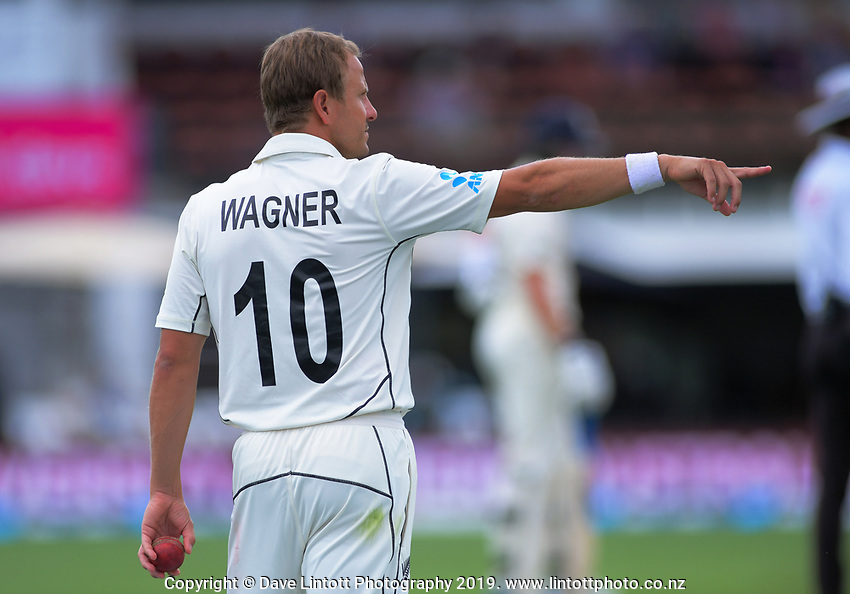 NZ's Neil Wagner prepares to bowl during day four of the international cricket 2nd test match between NZ Black Caps and England at Seddon Park in Hamilton, New Zealand on Friday, 22 November 2019. Photo: Dave Lintott / lintottphoto.co.nz
